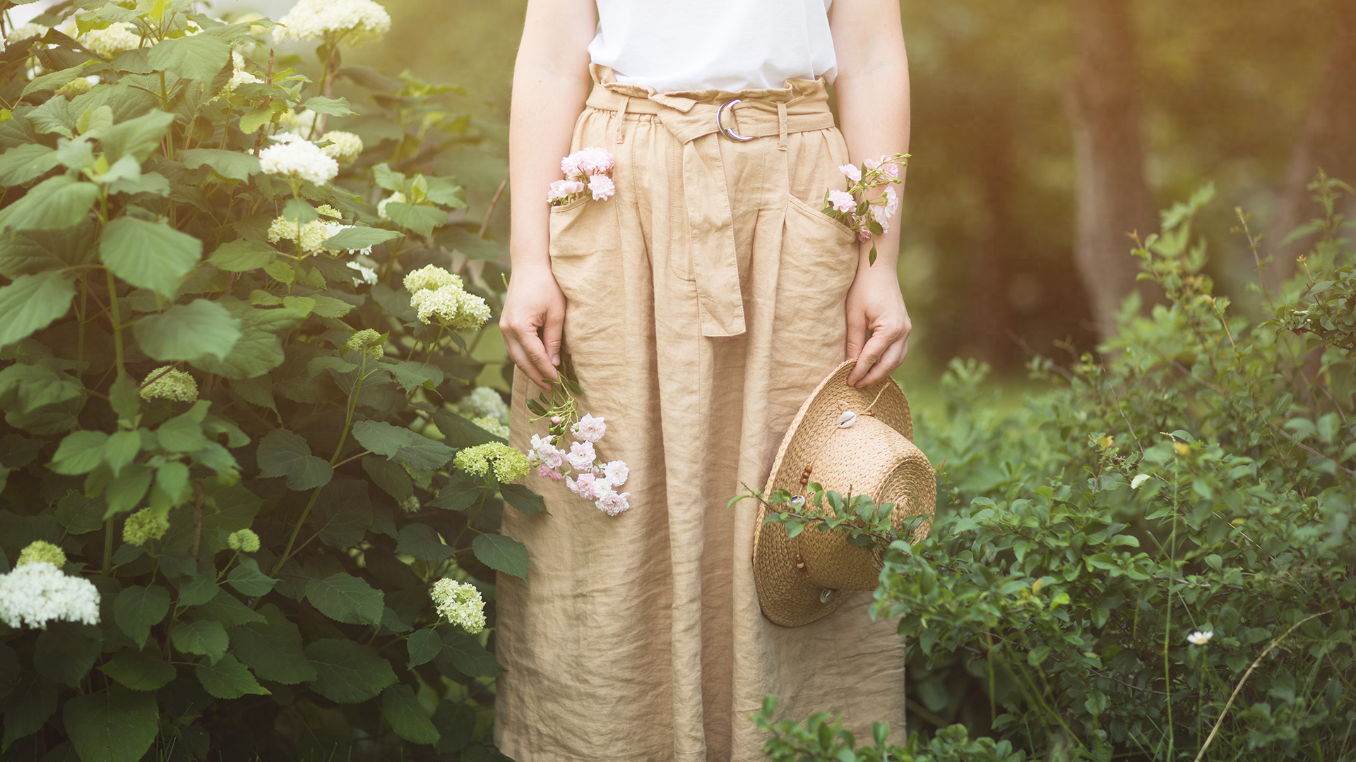 Льняные юбки: универсальность и стиль
