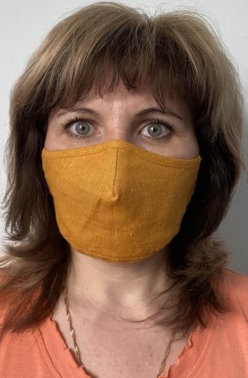 Эффективная тканевая маска для лица - Горчица лен